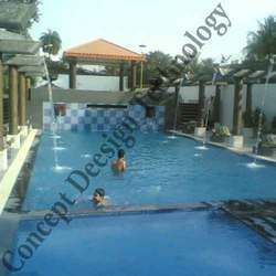 Swimming Pool With Water Sheet