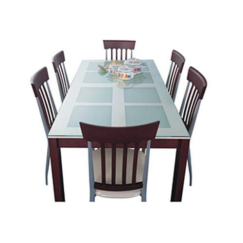 Dining set elegance table with corsica