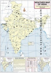 December Weather Map Of India