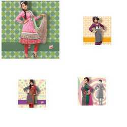 Unstiched Casual Salwar Kameez