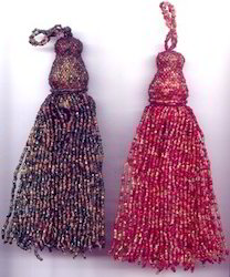 Long Beaded Tassel