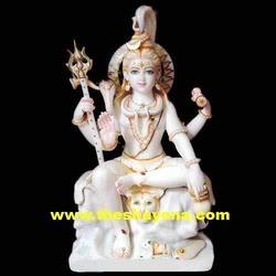Lord Shiva With Trishul