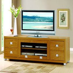 Tv Unit With Side Drawers