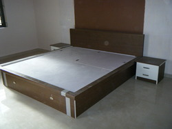 Bedroom Beds - Modern Beds, Plywood Beds, Wooden Beds and Designer