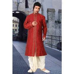 Red Kurtas with Dhoti