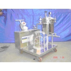 Double Jacketed Sparkler Filter Press