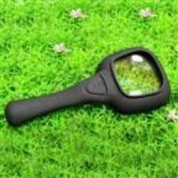 The Magnifier With 6 LED Lights - Money Detector