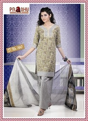 Pure Cotton Print Salwar Kameez  Suit