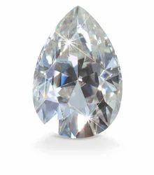 Pear Shape Moissanite Diamond
