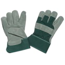 leather palm water repellent glove