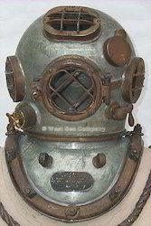 Antique Divers Diving Helmet