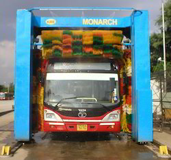 KRE Monarch 3 Brush Bus Wash Machine