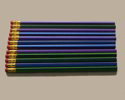 writing pencil with erasers