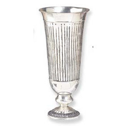 Brass Silver Plated Vases