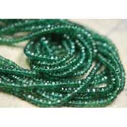 Teal Green Natural Chrome Apatite --15 Inches
