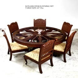 Hand Carved Ethnic Dining Sets
