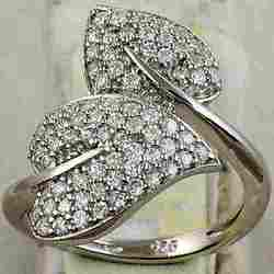 Star Cut CZ Rings