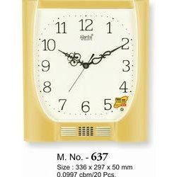 Plain Musical Clock-637
