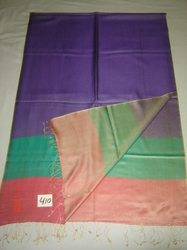 Pure Silk Reversible Stoles With Border Design