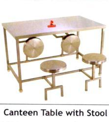 Canteen Stool Table