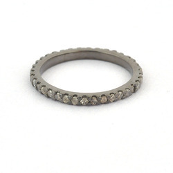 Designer Diamond Sleek Finger Bands