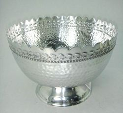Bowl with Hammered