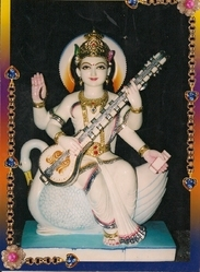 Goddess+Sarawati+Statue