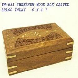 Decorative Sheeshum Wood Box