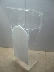 Elegant Acrylic Lectern