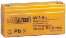 Sealed Lead Acid Rechargeable Batteries