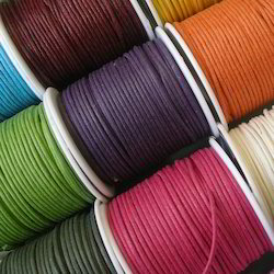 Waxed Cotton Cords in Various Colors