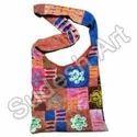 Patchwork Shoulder Hippie Peace Bag