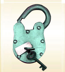 Iron Medieval Lock