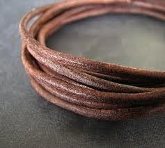 Matte Finish Leather Cord