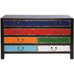 Six Drawers Wide Chest