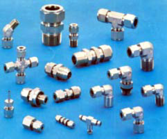Double Ferrule Compression Tube Fitting