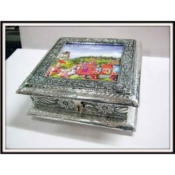 Metal Jewelry Box
