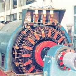 thermal plant alternator