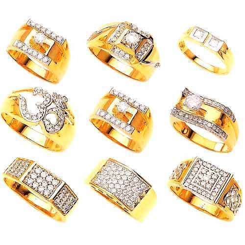 Gents Rings Mens Diamond Ring Manufacturer from New Delhi