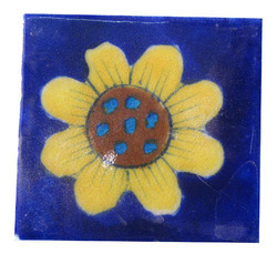Blue Pottery Ceramic Tiles
