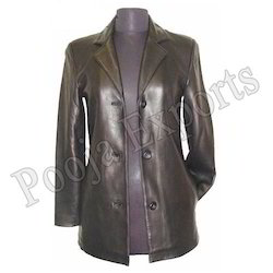 ladies leather jacket product code jl201