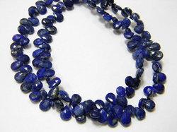 Lapis+Lazuli+Faceted+Pear+Briolettes