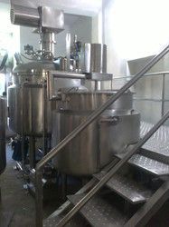 Automatic Ointment Cream Manufacturing Plant
