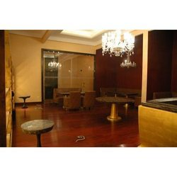 Hotel Bar Sitting Interior Designing Services