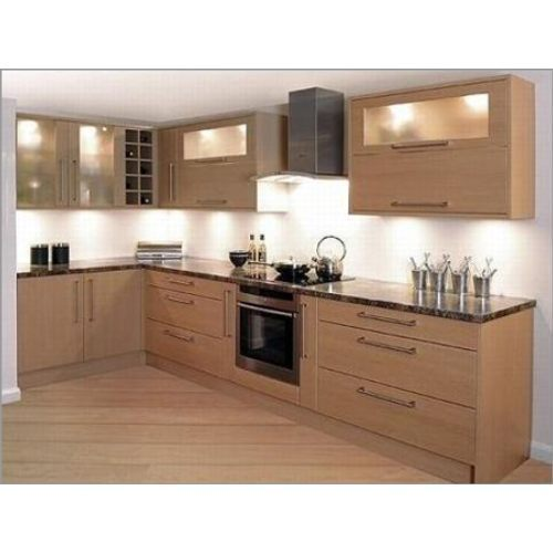 L Shaped Modular Kitchen Retailer From