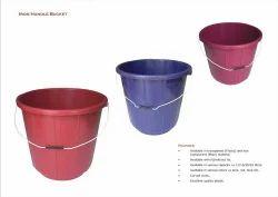 Plastic  Bucket - Iron Handle