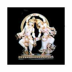 Dancing Radha Krishana Statue