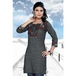 South Cotton Dobby Kurtis