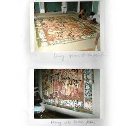 Team Work On Scroll Painting Service
