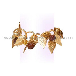 Metal Leaves Bracelet